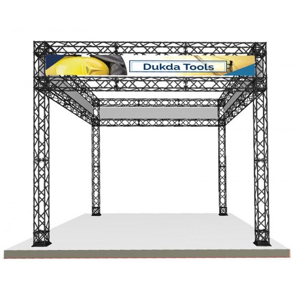 Gantry tradeshow header