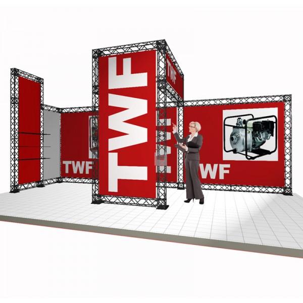 Custom Built Modular Display Stand