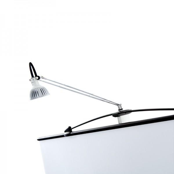 Twist banner stand LED light