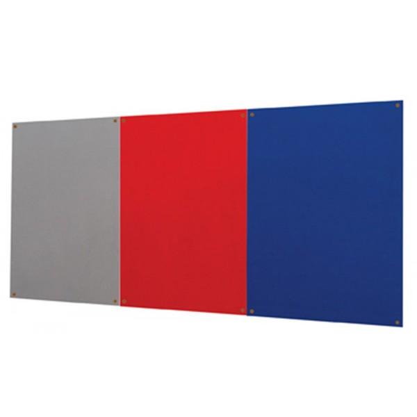 Fabric notice board