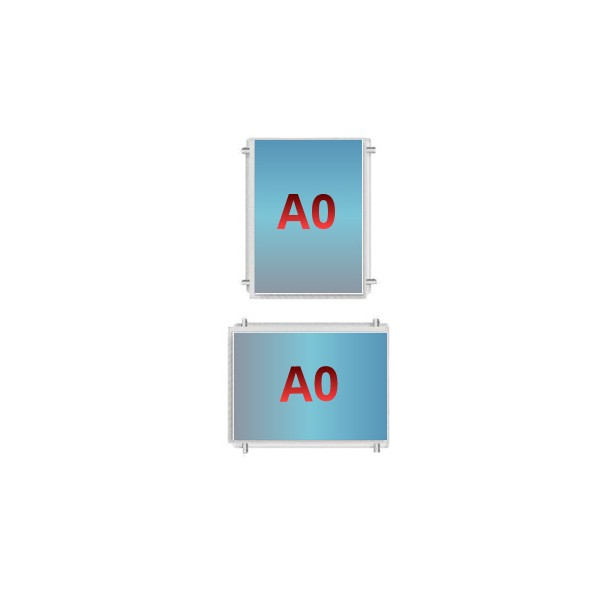 A0 Poster Pocket - Cable Display Components