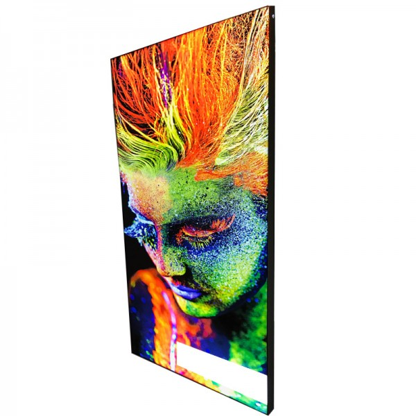 Frameless Tensioned Fabric Lightbox