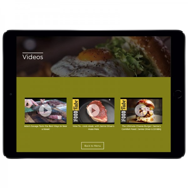 The Video Module means you can display your videos effortlessly