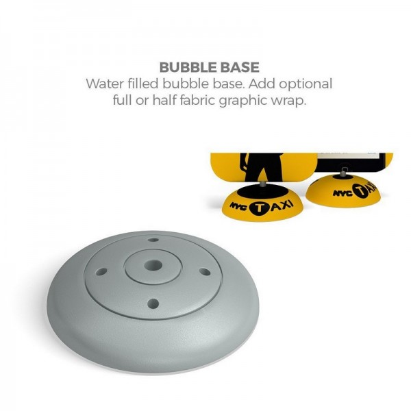 Included Water Fillable Base Provides Further Stability