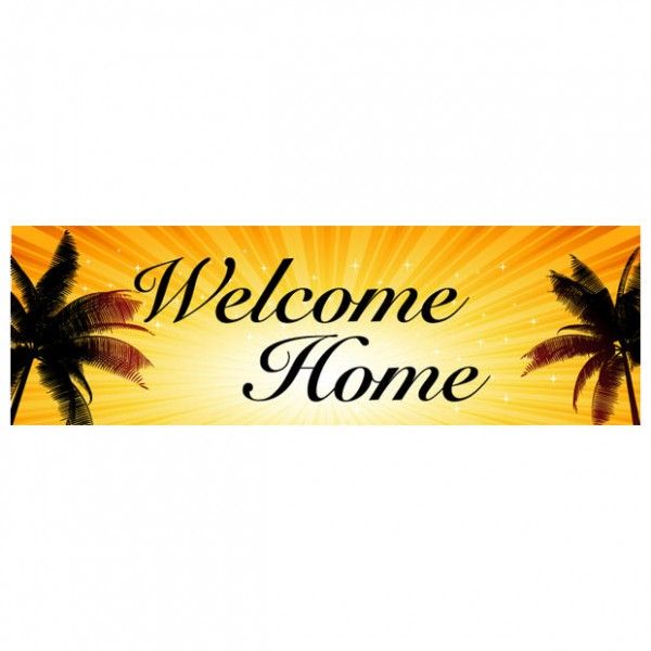 Banner - Welcome Home - 341