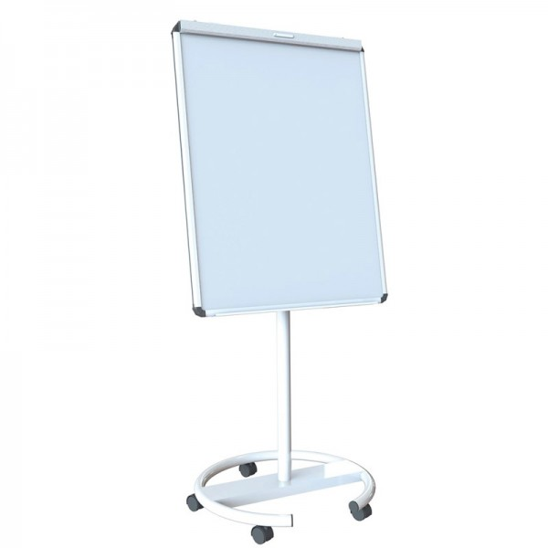 White mobile whiteboard