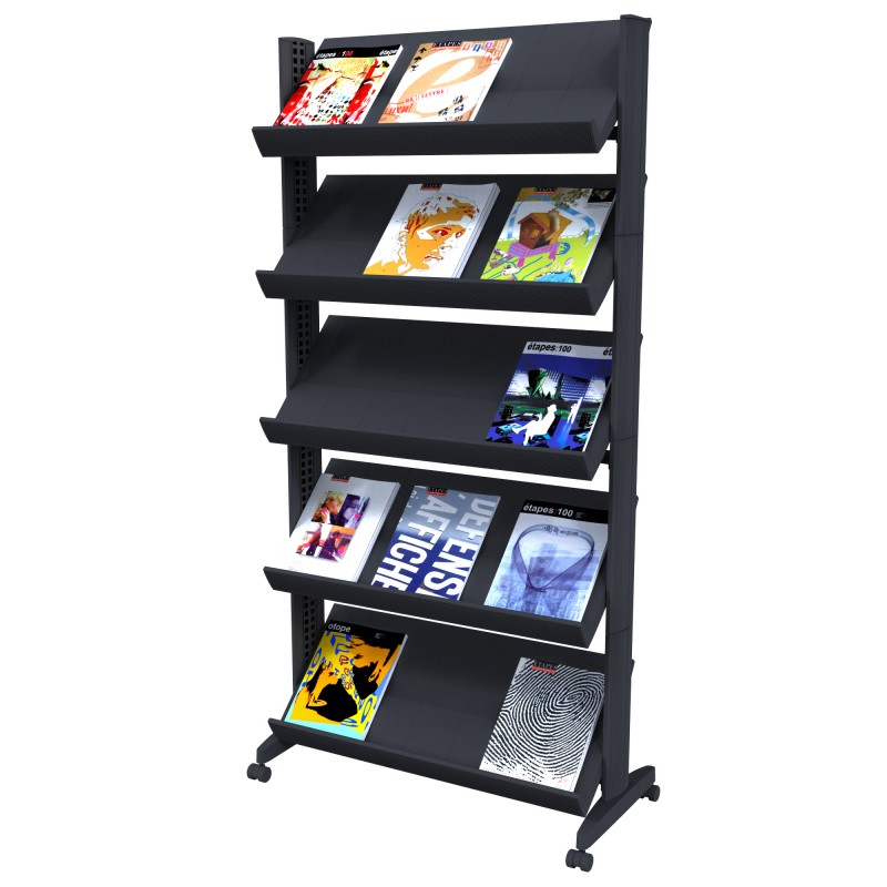 Exhibition Stand With Shelves : Literature display system