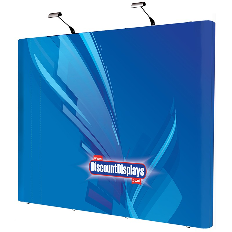 3x4 Straight Pop-Up Frame with Graphics | Discount Displays