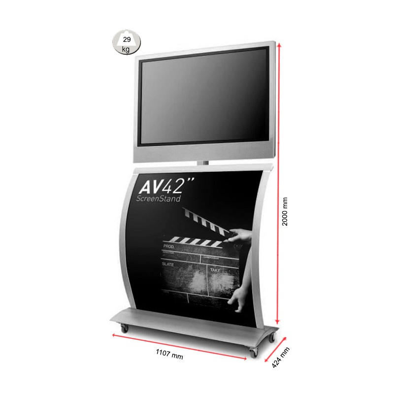Flat Screen Display Stand