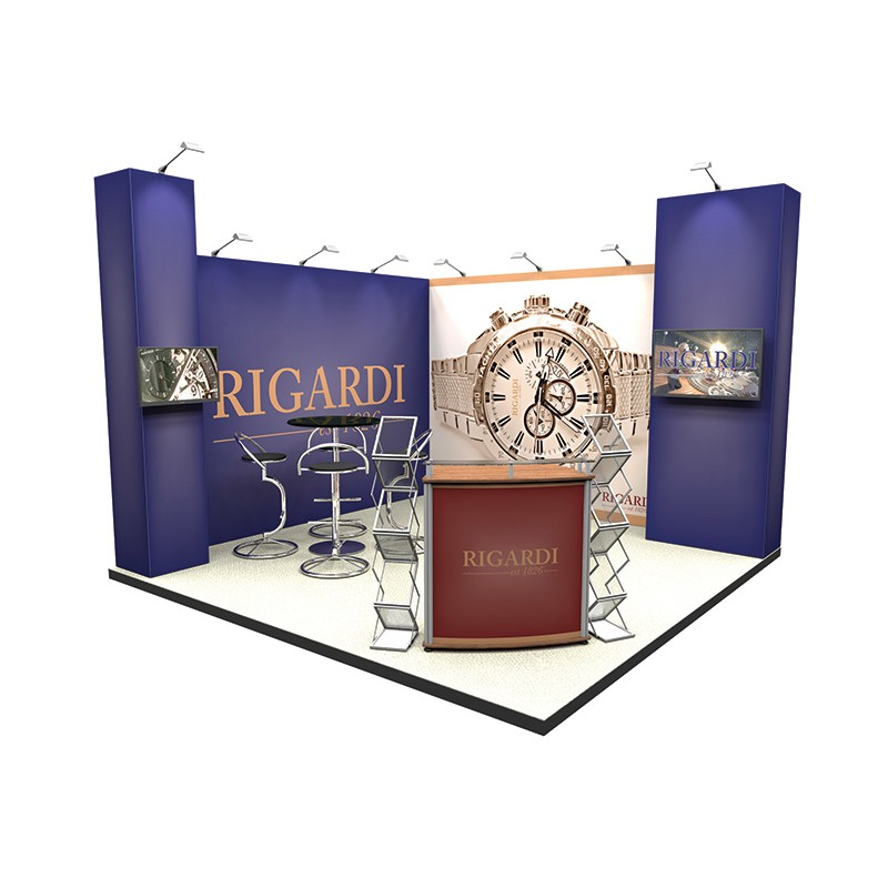 Cheap Exhibition Stand Design : M corner exhibition stand discount displays