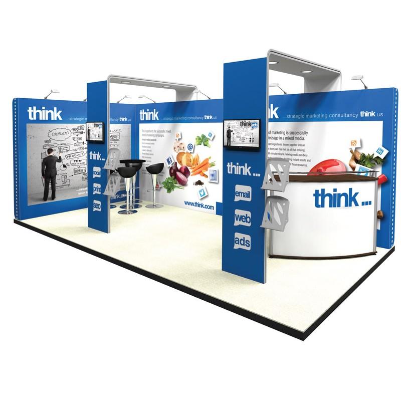 Modern Exhibition Stand Uk : M modern exhibition stand discount displays