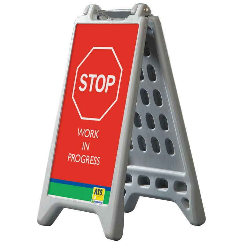 A board floor sign discount displays for Floor banner