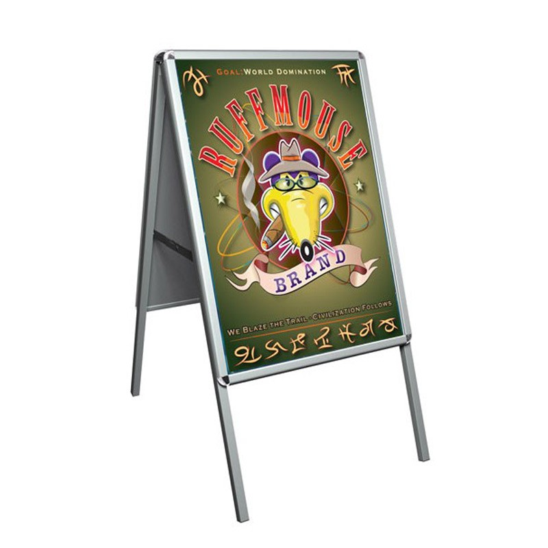 A0 Pavement Sign | Snap Shut Frame | Discount Displays