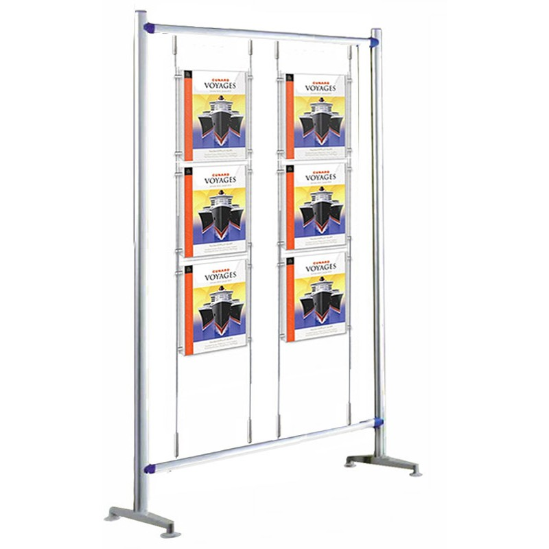 Exhibition Stand Poster : A poster display stand