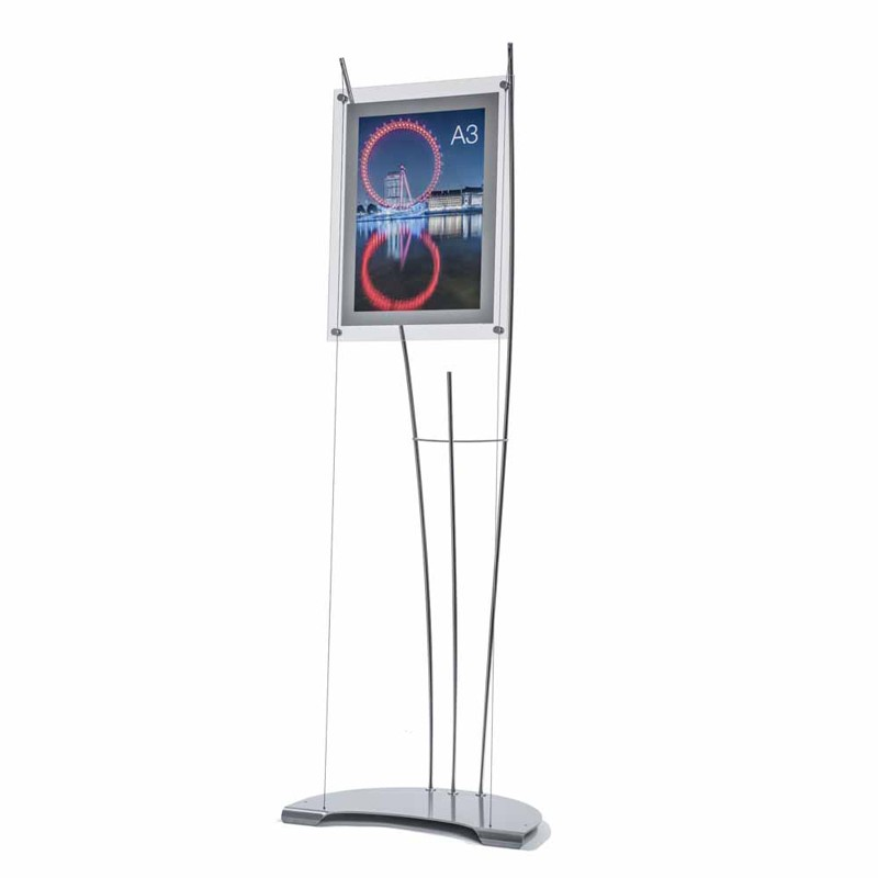 Contemporary A3 Poster Display Stand Discount Displays
