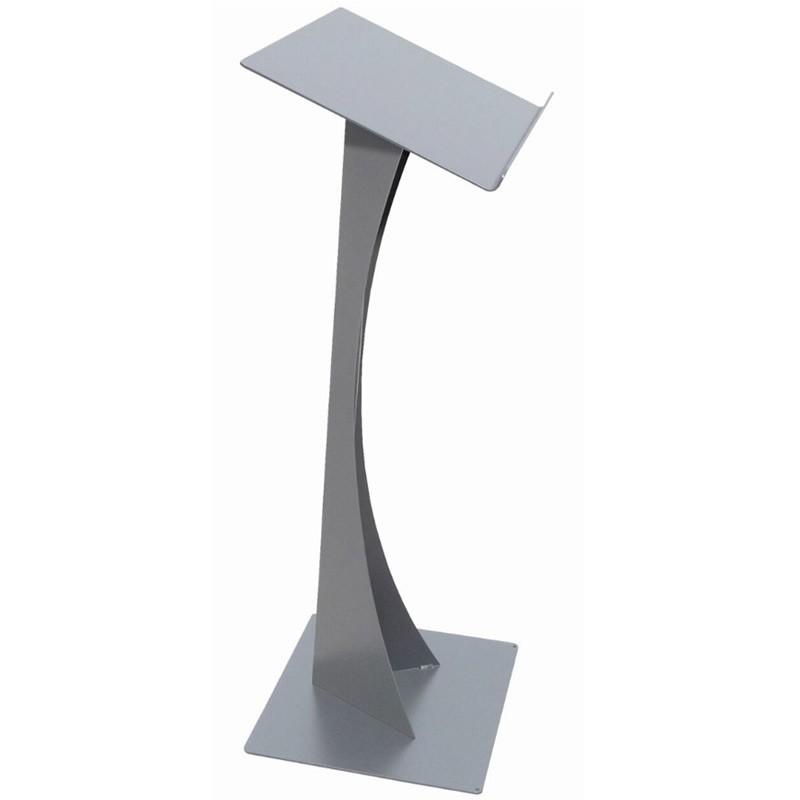 Exhibition Shell Scheme Graphics : Modern blade podium metal lectern discount displays