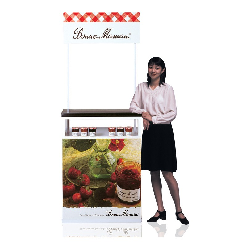 Exhibition Stand Eco : Food sampling counter portable discount displays