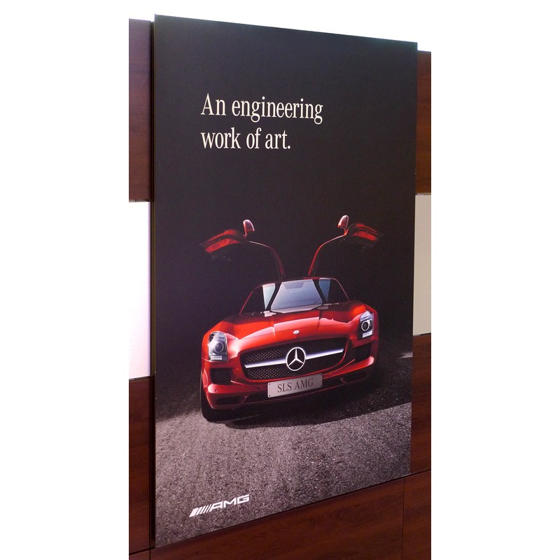 Display Boards Panels For Trade Shows - Car show display board stands