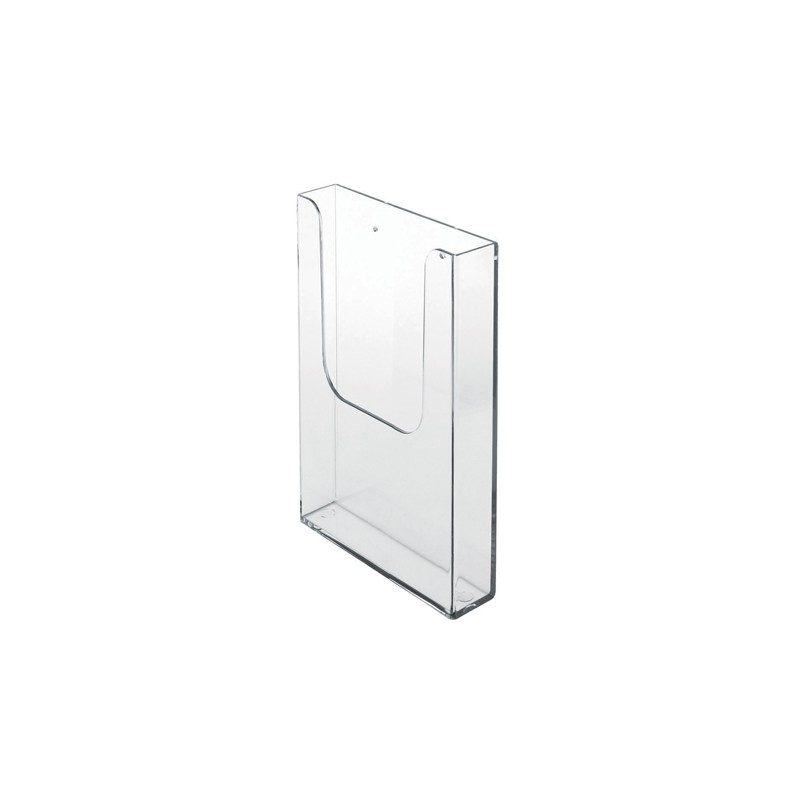 Perspex Wall Literature Organiser Brochure Holder