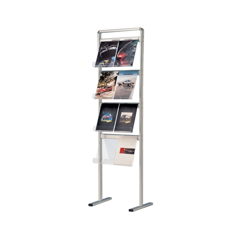 Floor Standing Leaflet And Brochure Holder Display