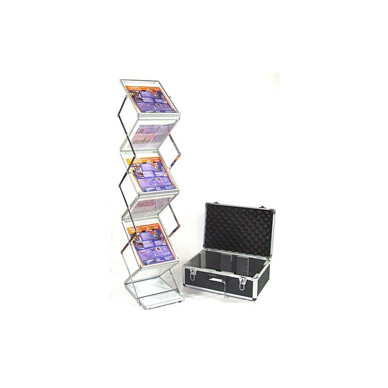 Literature Displays Compact Folding Brochure Holder