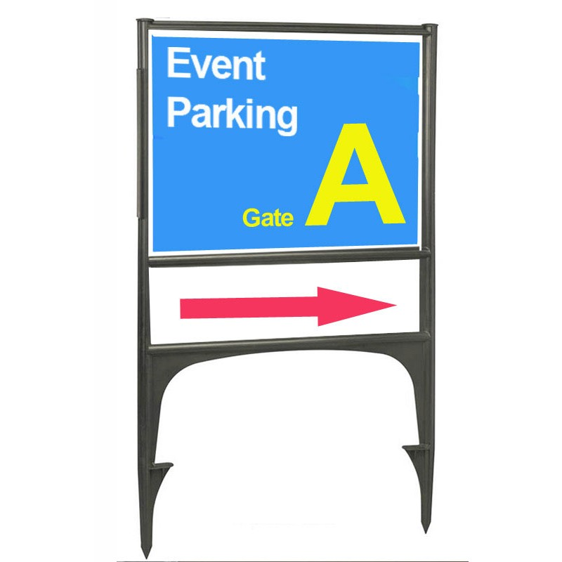 Correx Sign Stand Holder Discount Displays