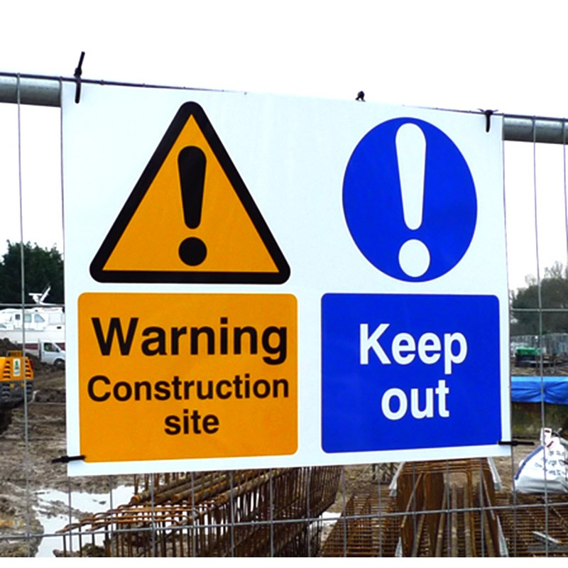 Custom Correx Signs Multiple Sizes Signage Outdoors Warning Disabled Adverts
