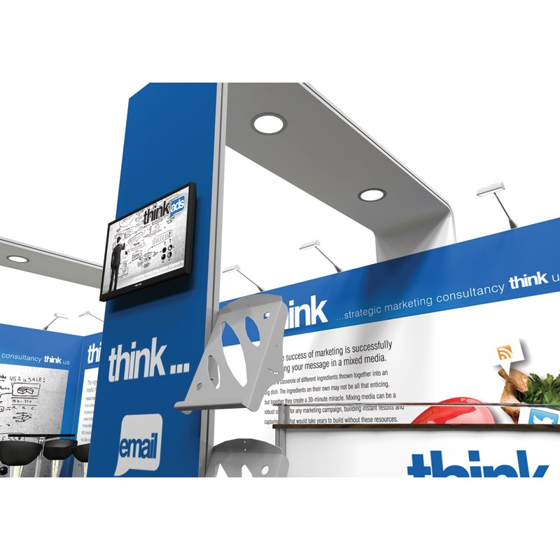 Modern Exhibition Stand Quotes : 6m x 3m modern exhibition stand discount displays
