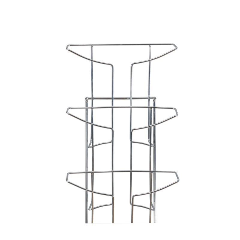 Wall Mounted Wire Literature Rack Brochure Holder