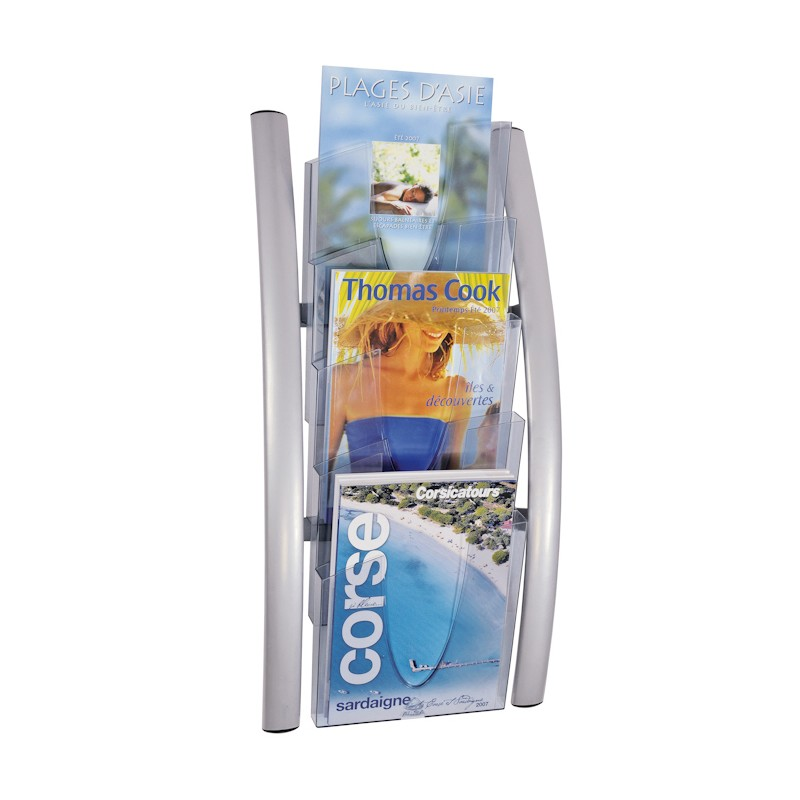 Magazine rack wall mounted trendy wall mounted file for Trendy magazine rack