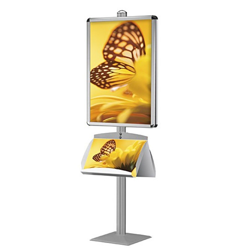 Retail Stand with Double Sided Poster Frame | Discount Displays
