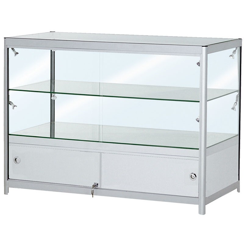 Portable Cabinets For Display : Portable glass showcase