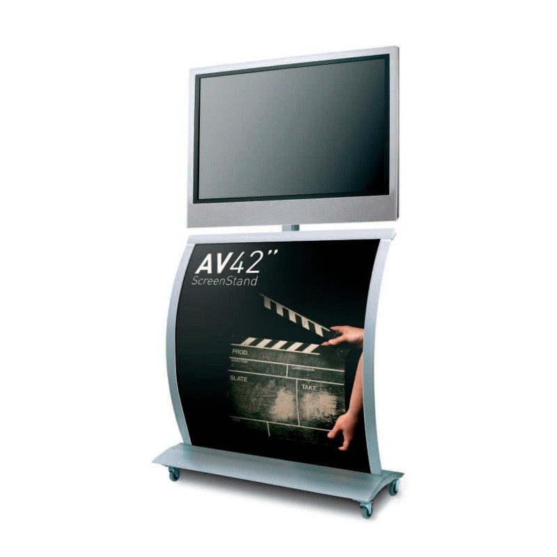 Flat Screen Display Stand 40 AV Display Stands Classy Multimedia Display Stands