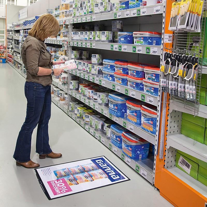 A1 Floor Poster Holder Poster Frames Discount Displays