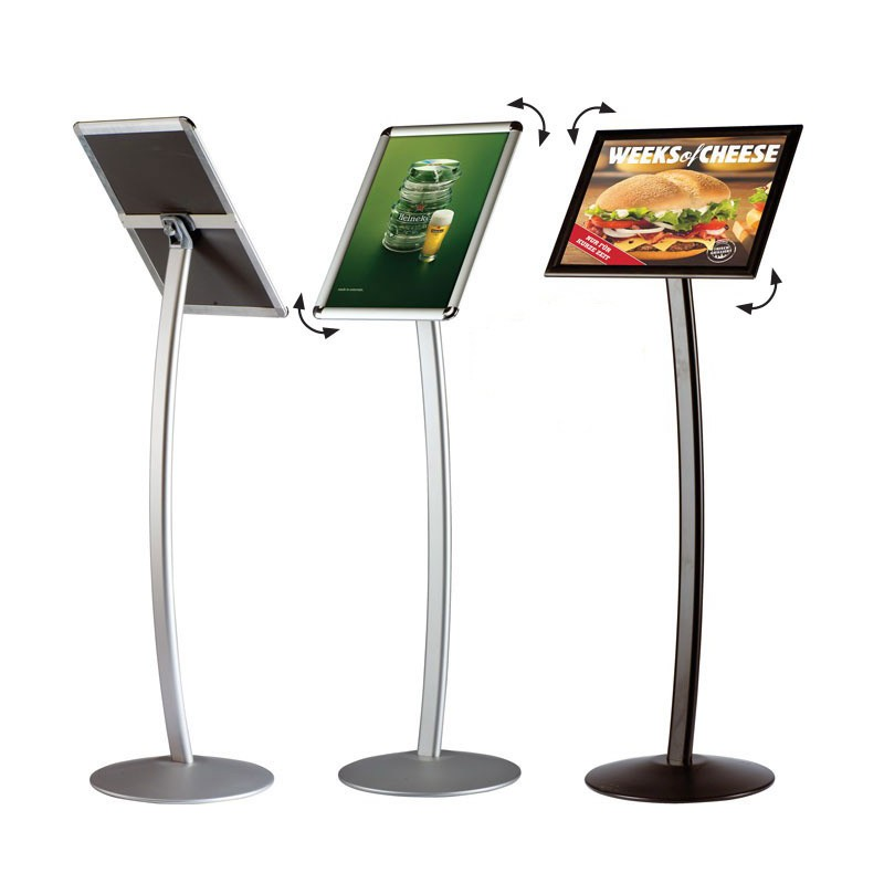 floor stand poster frame menu board discount displays