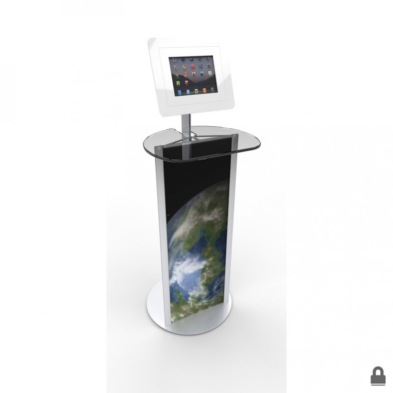 Standing iPad Table with Acrylic Top | Discount Displays