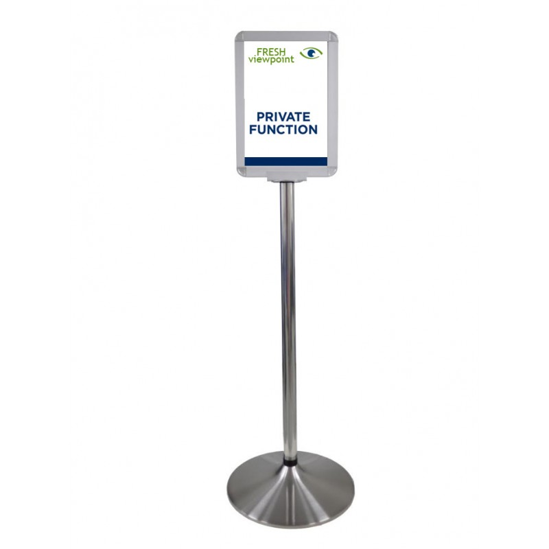 Free Standing Reception Sign Stand Discount Displays