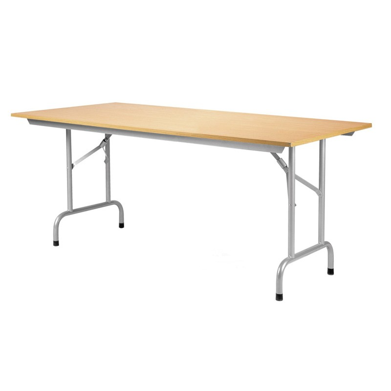 Wooden Top Folding Table | Discount Displays