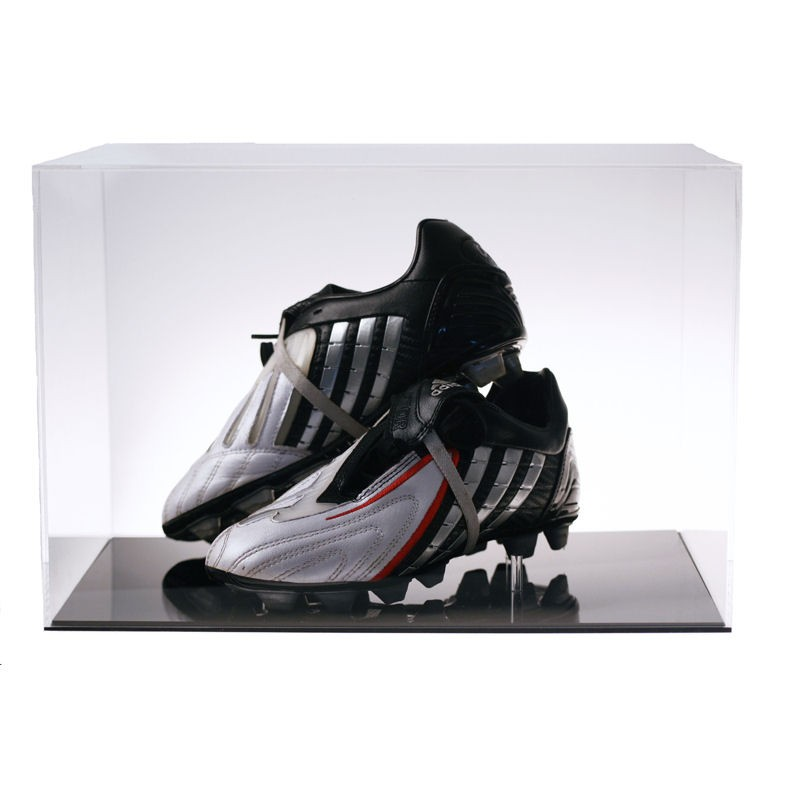 Four Post Lift >> Football Boots Display Case | Discount Displays