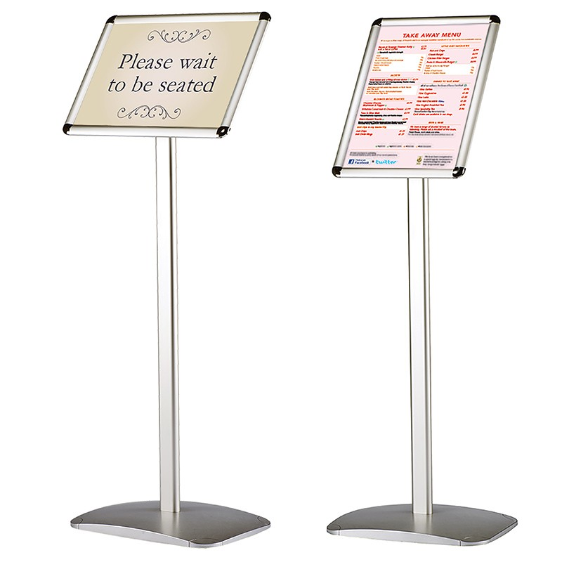 Free standing sign holders for Exterior standalone retail