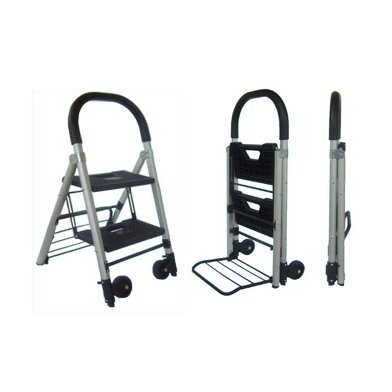 2 step hand truck step ladder. Black Bedroom Furniture Sets. Home Design Ideas