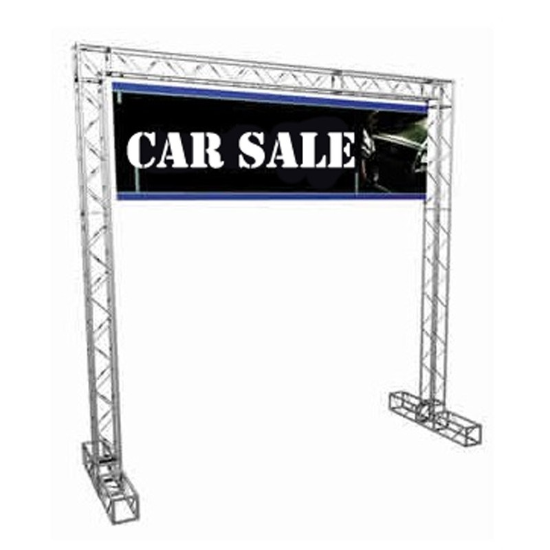 Trade Stands Cheap : Trade show gantry booth discount displays