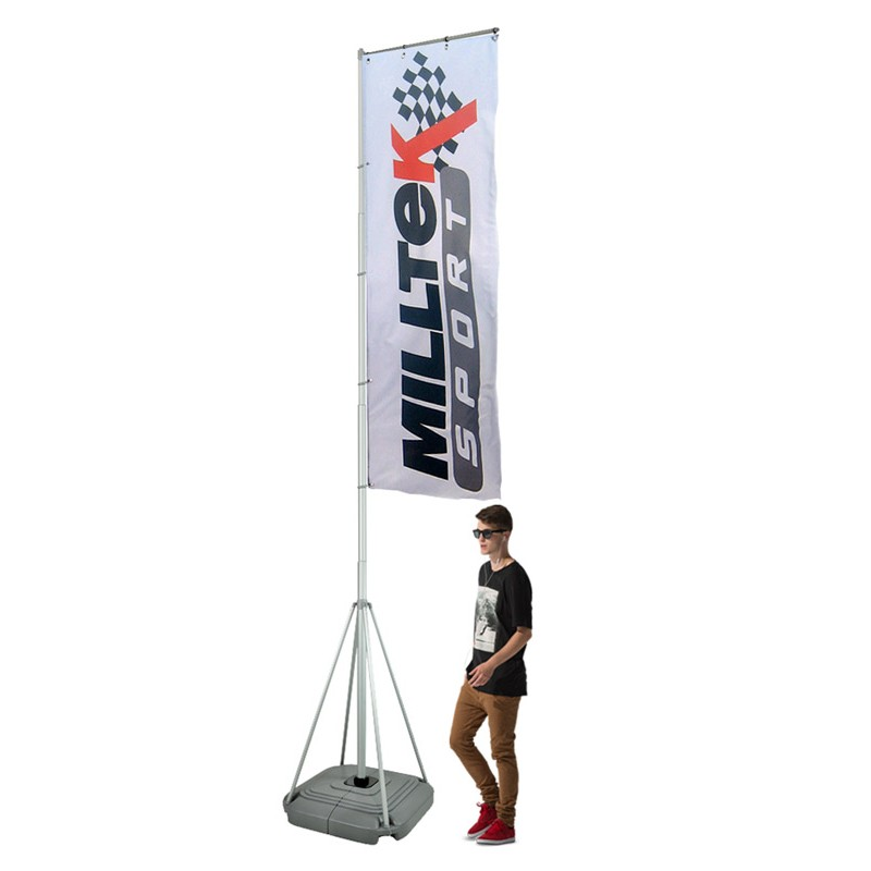 Portable 5m Event Flag Pole Discount Displays
