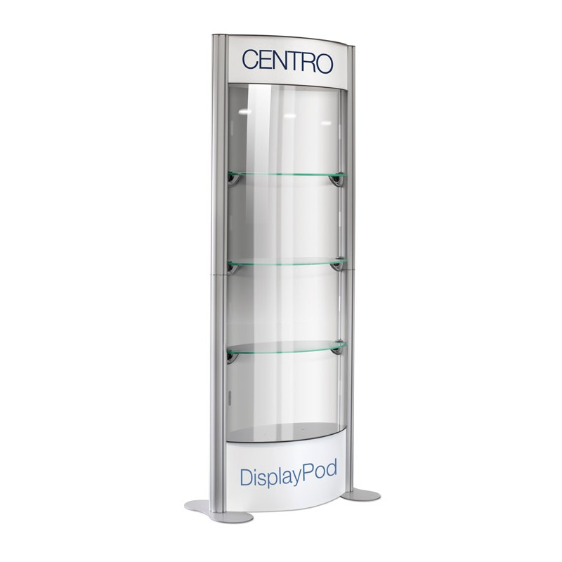 Glass Display Pod Cabinet Discount Displays