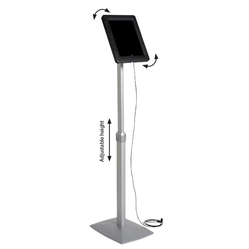 Exhibition Stand Height : Height adjustable ipad stand discount displays