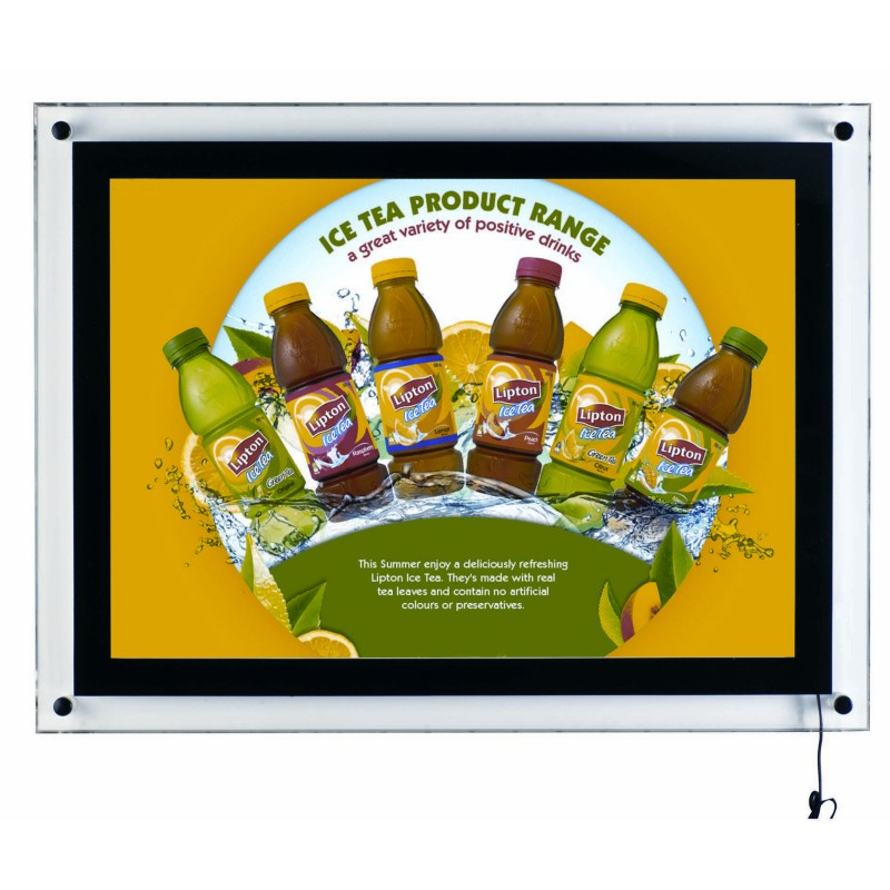 Wall Lightbox Led Poster Holder Discount Displays