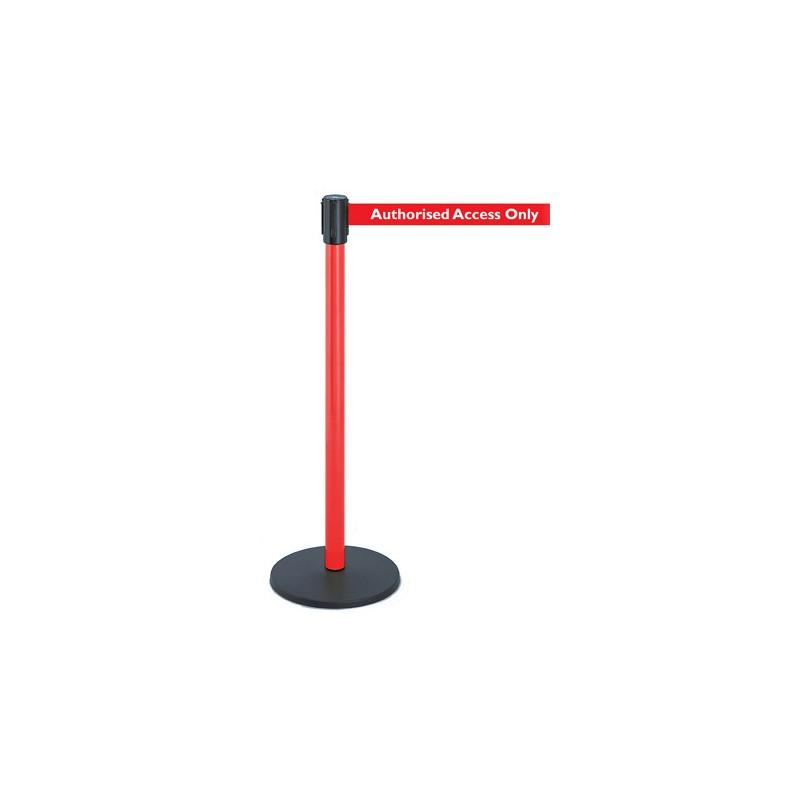 Utility Tensabarrier Industrial Retractable Barrier