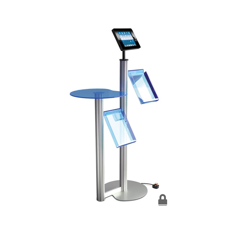Ipad Display W 2x Brochure Holders Discount Displays