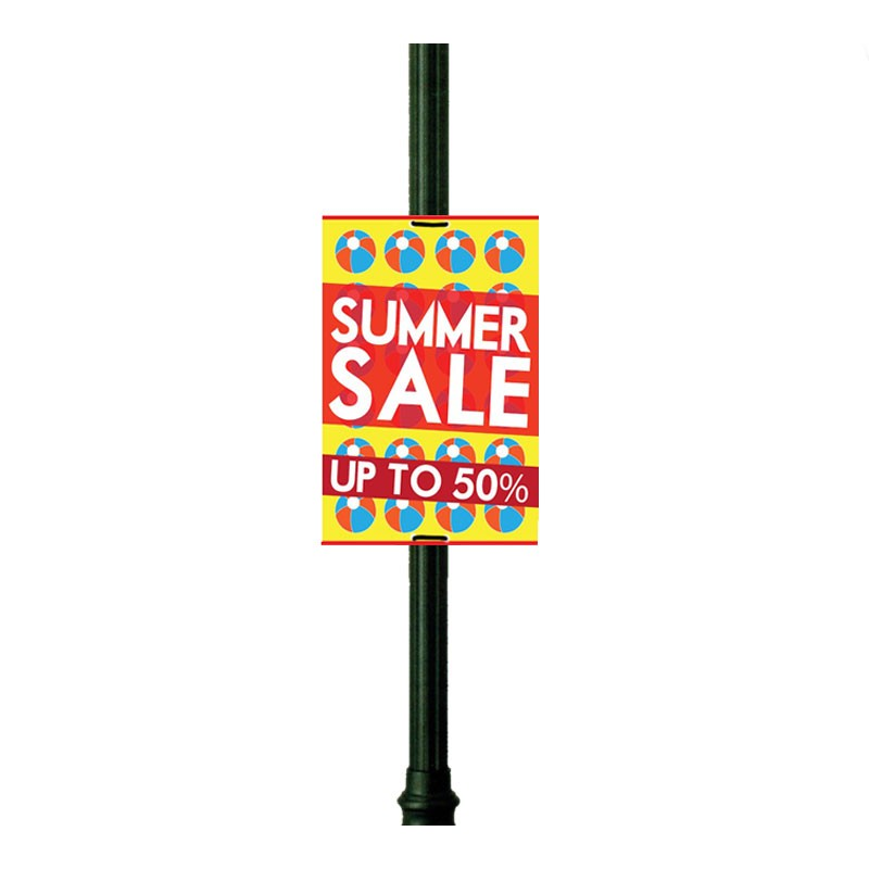 Lamp Post Signs Discount Displays