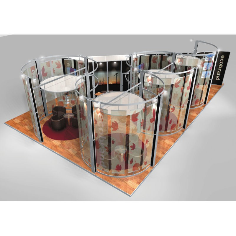 Modular Exhibition Stand Goals : Large modular display systems